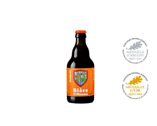 Ambrée de Meaux Bière 33cl